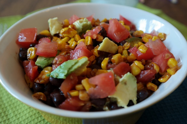 Birds Eye Flavor Full Barbecue Sweet Corn Spices Up The Classic Black Bean & Corn Salad