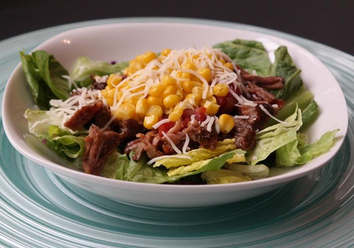 Kickin Carnitas Salad Recipe