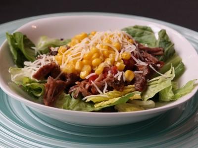 Carnitas Salad Recipe Featured