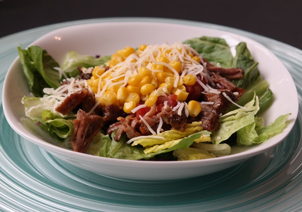 Carnitas Salad Recipe Featured