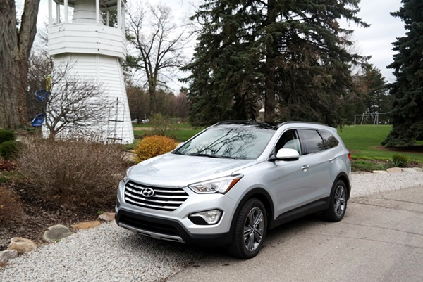 Hyundai Santa Fe Limited Featured
