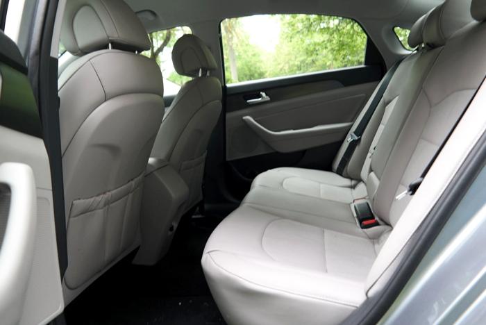 Hyundai Sonata Sport Backseat