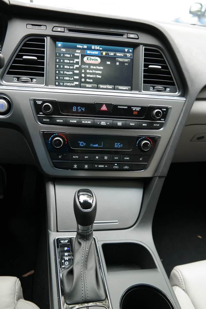 Hyundai Sonata Sport Center Console