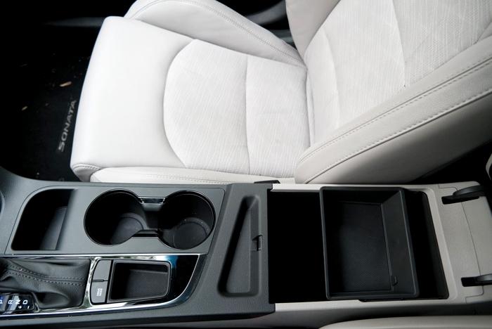 Hyundai Sonata Sport Center Storage