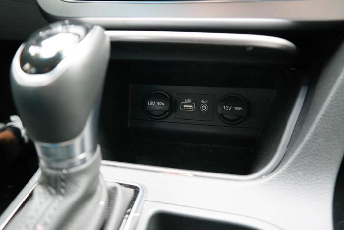 Hyundai Sonata Sport Charging Options