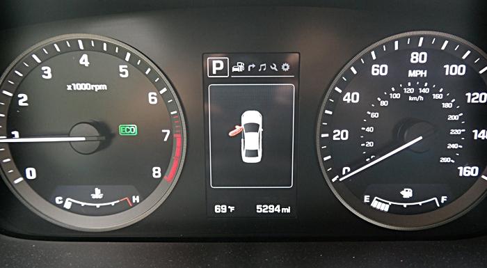 Hyundai Sonata Sport Door Open