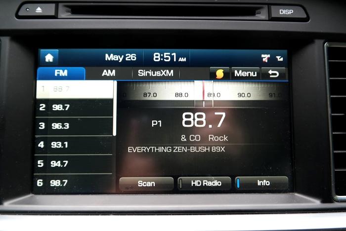 Hyundai Sonata Sport Radio