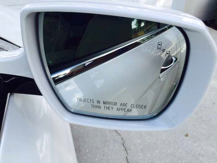 Kia K900 Blind Spot Detection System BSD