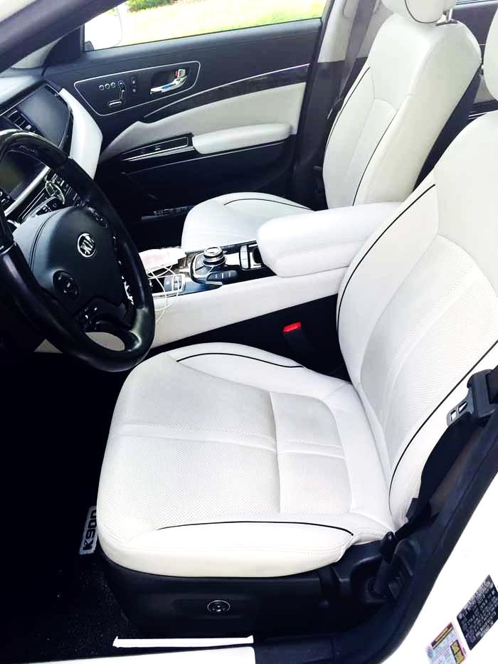 Kia K900 Front Seat