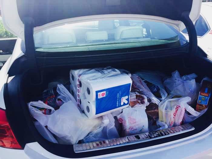 Kia K900 Grocery Trip