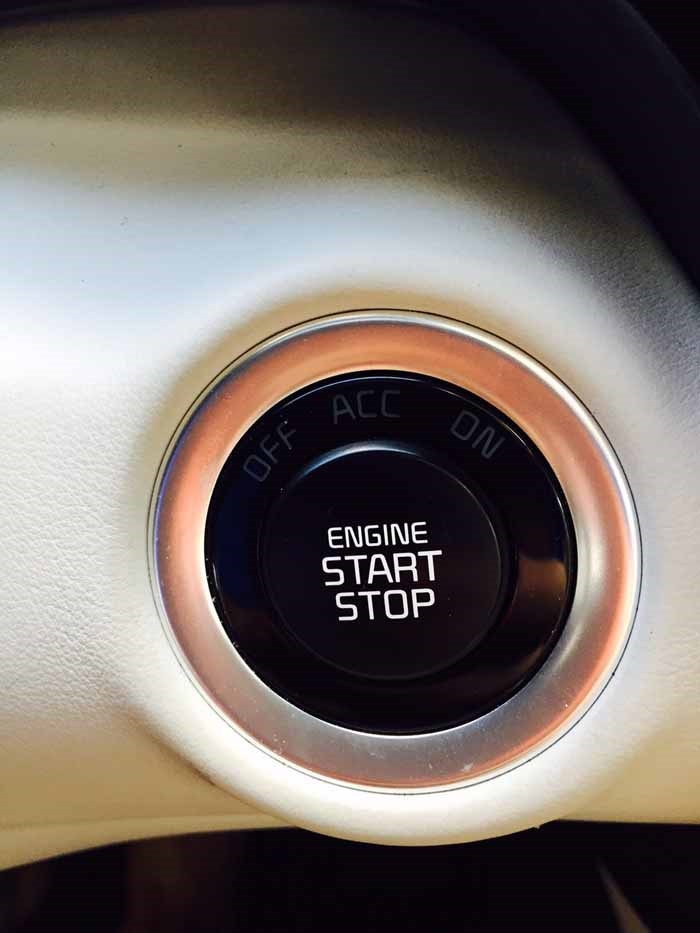 Kia K900 Push Button Start