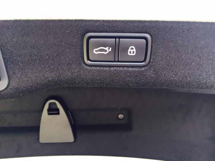 Kia K900 Trunk Button