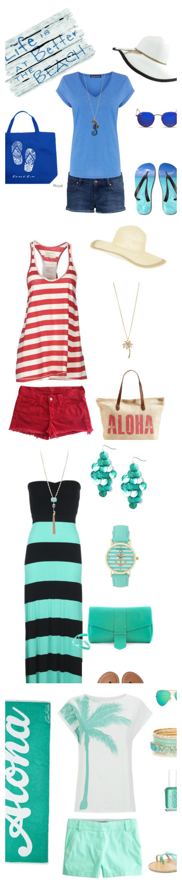 My Favorite Beach Styles