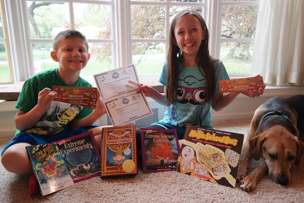 Kids Can Power Up & Read With The Scholastic Summer Reading Challenge