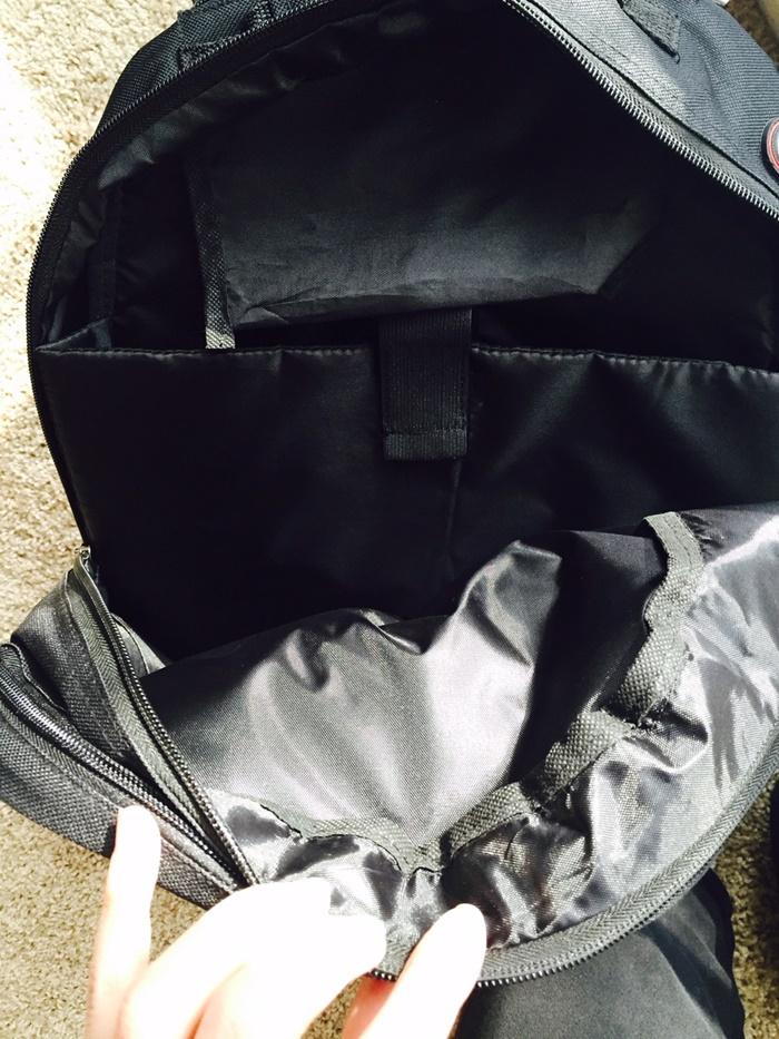 Sydney Paige Backpack Inside