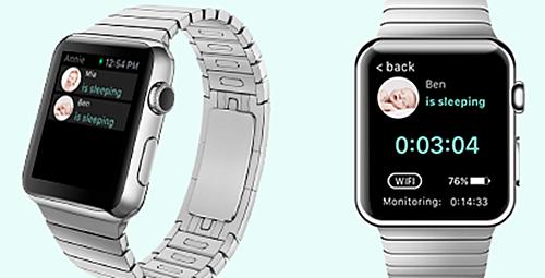 Annie Baby Monitor - Apple Watch