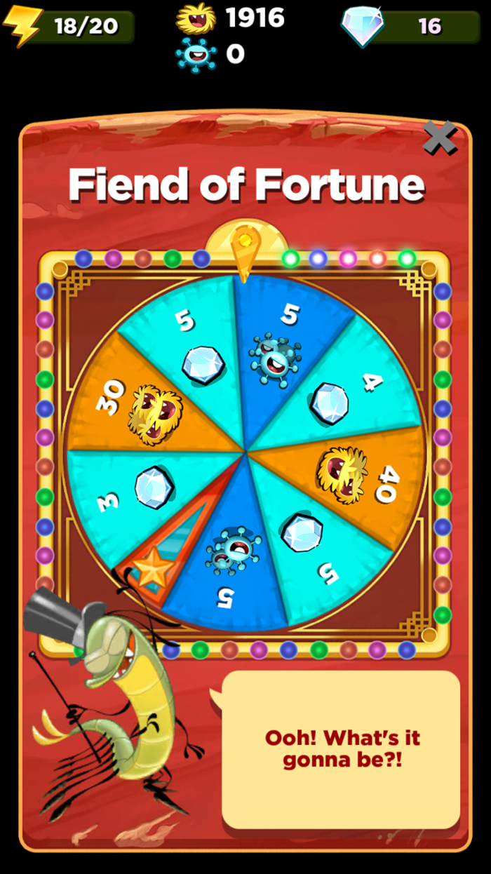 Best Fiends Fiend of Fortune