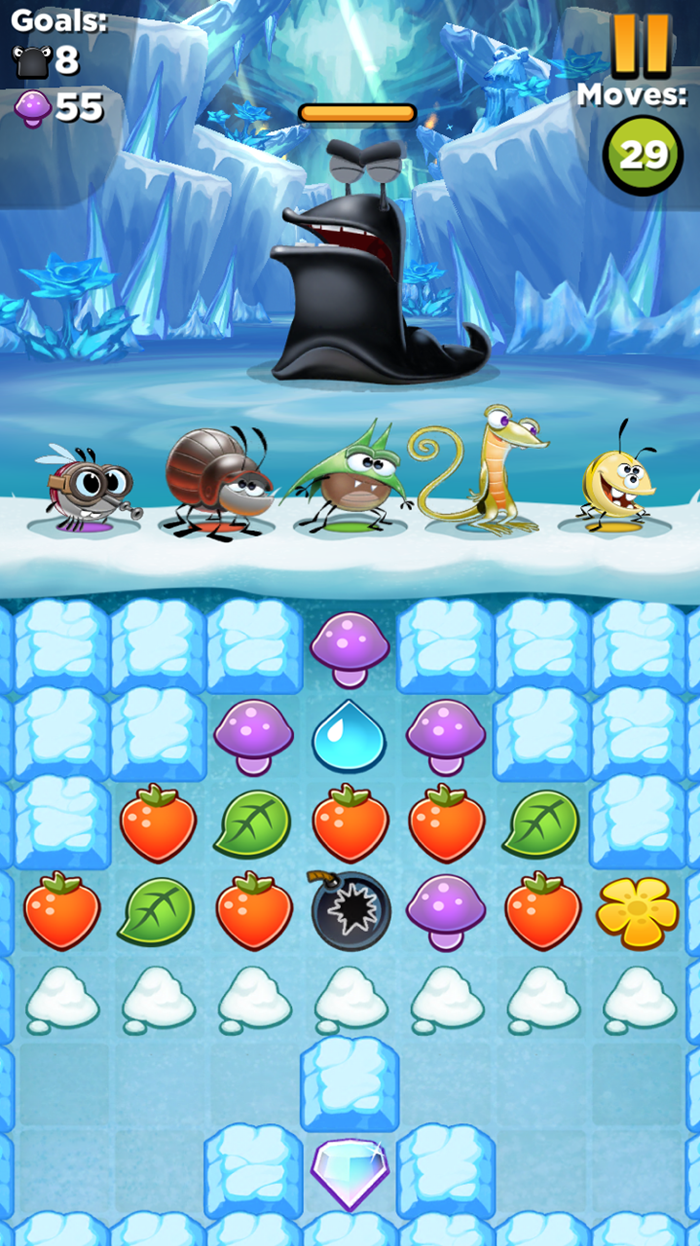 Best Fiends Line Puzzle App