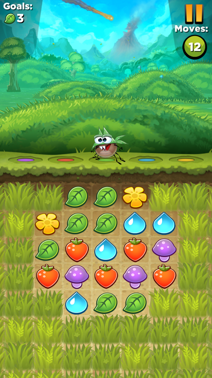 Best Fiends Line Puzzle