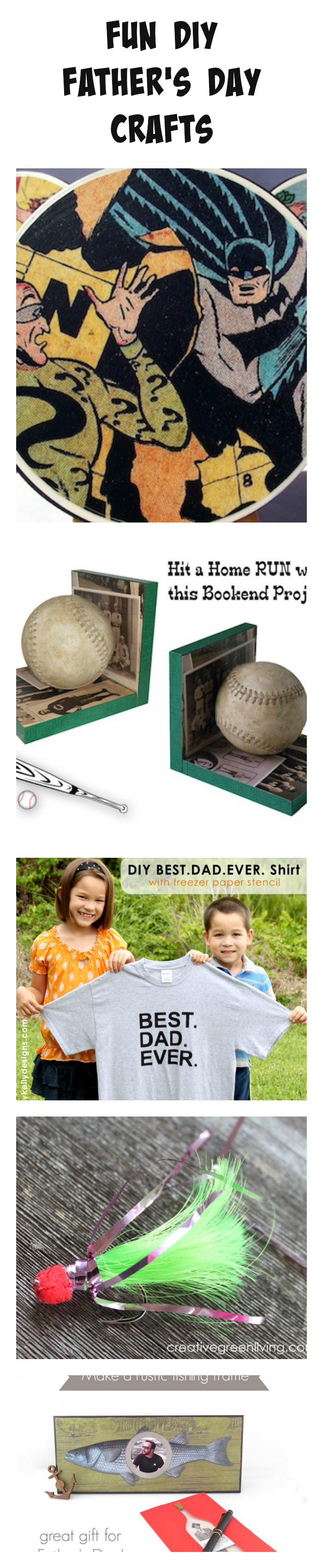 Fun DIY Father's Day Crafts
