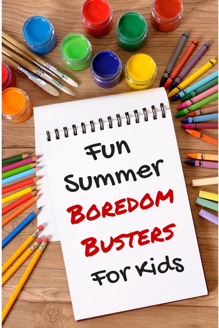 Fun Summer Boredom Busters For Kids