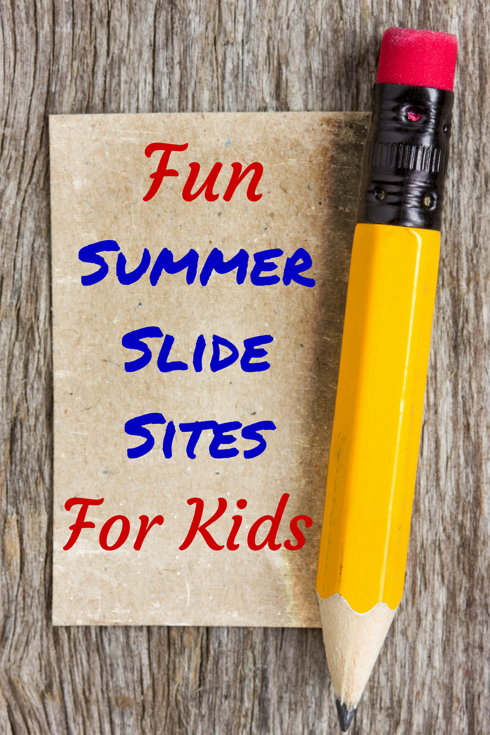 Fun Summer Slide Sites For Kids
