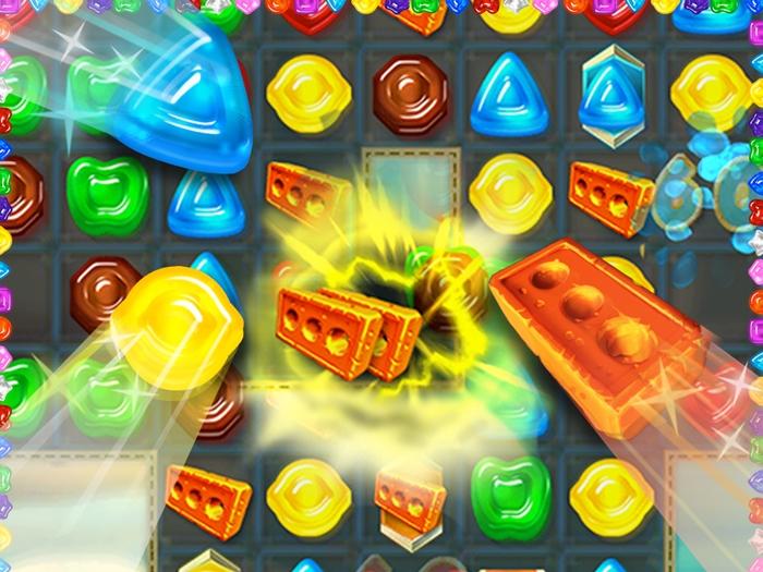 Gummy Drop Match 3 Game