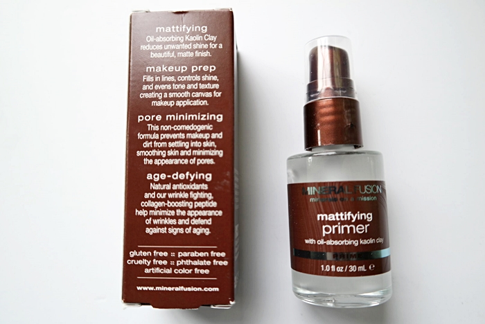 Mineral Fusion Mattifying Primer Review