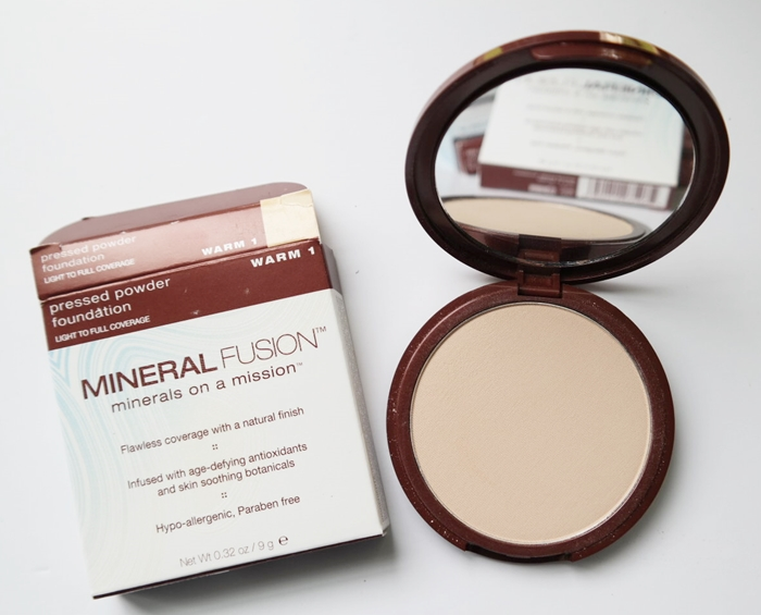 Mineral Fusion Pressed Powder Foundation Review