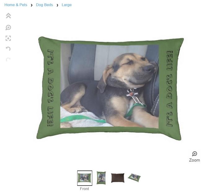 Yoshi Zazzle Dog Bed Review