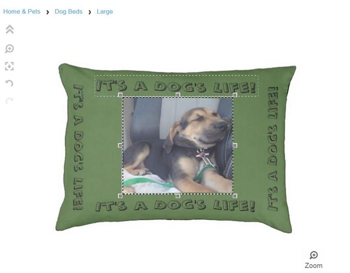 Yoshi Zazzle Dog Bed