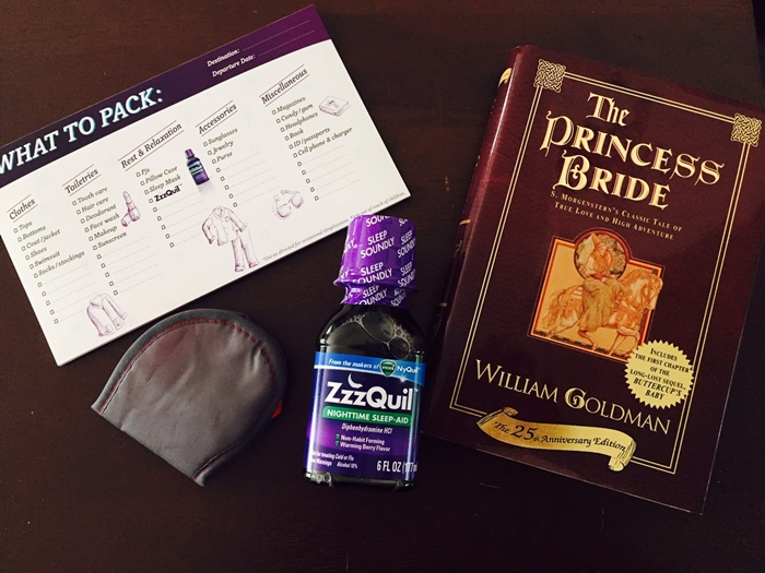ZzzQuil Travel Hacks
