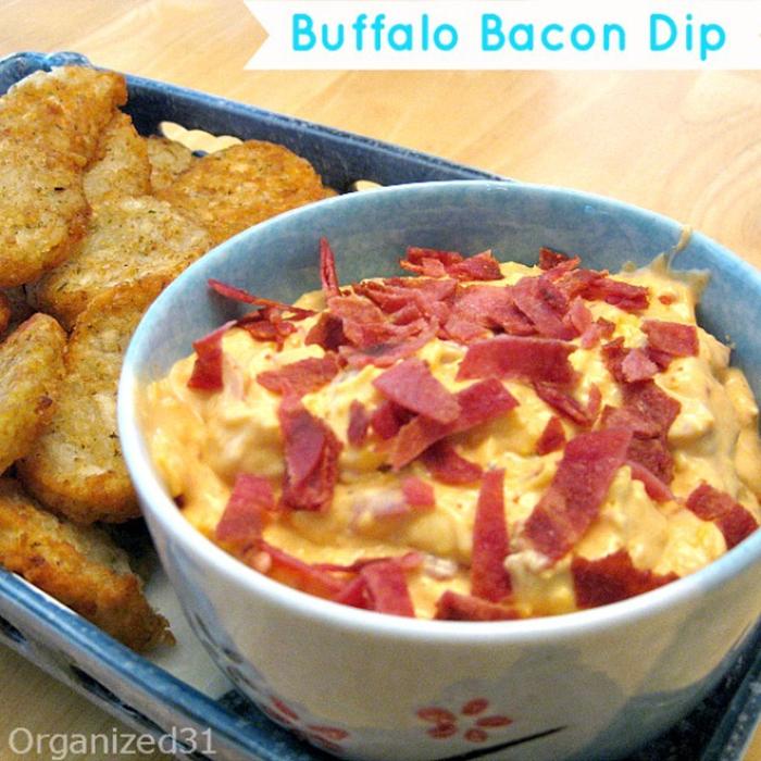 Buffalo Bacon Dip