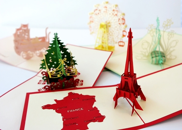 3D Laser Cut Pop Up Cards From Cards2Life