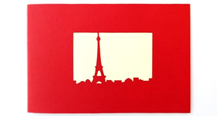 Cards2Life Eiffel Tower