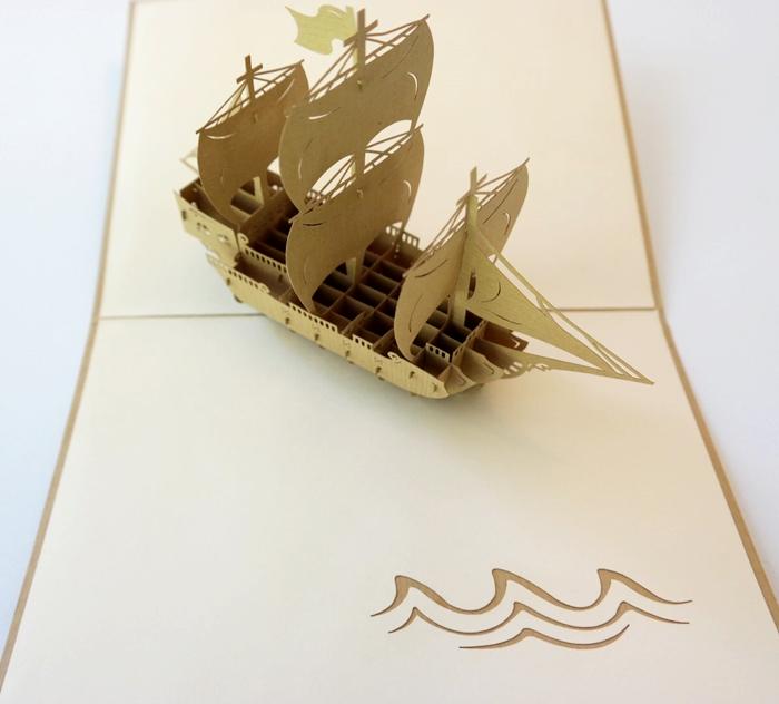 Cards2Life Ship Pop Up