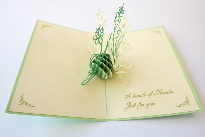 Cards2Life Thank You 3D Pop Up