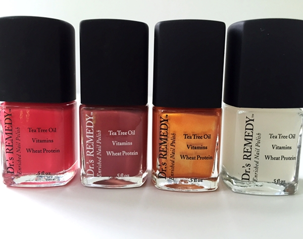 Beautiful Nail Color With Benefits: Dr's Remedy Enriched Nail Polish Review