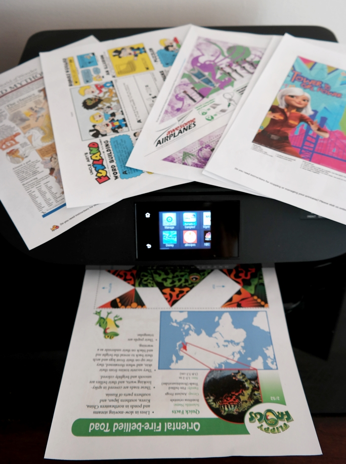 HP Instant Ink Colorful Printables For Kids