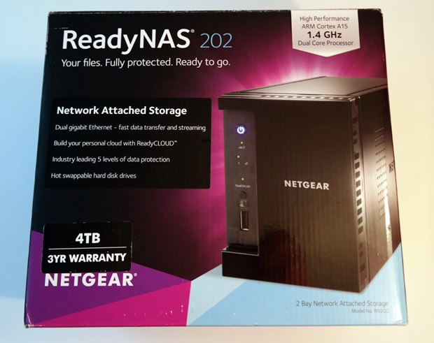 Netgear ReadyNAS 202 Box