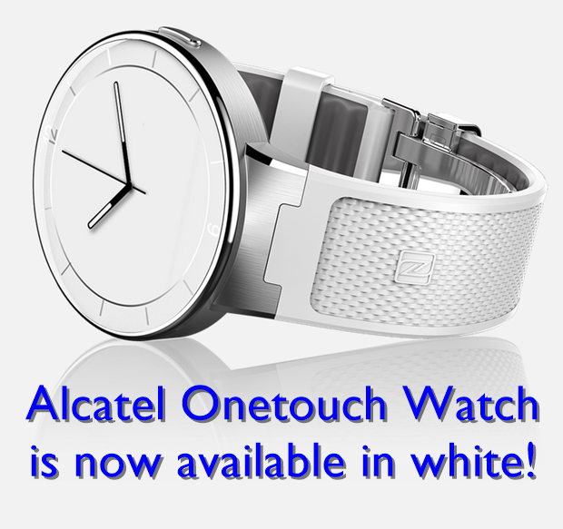 Onetouch Watch in White