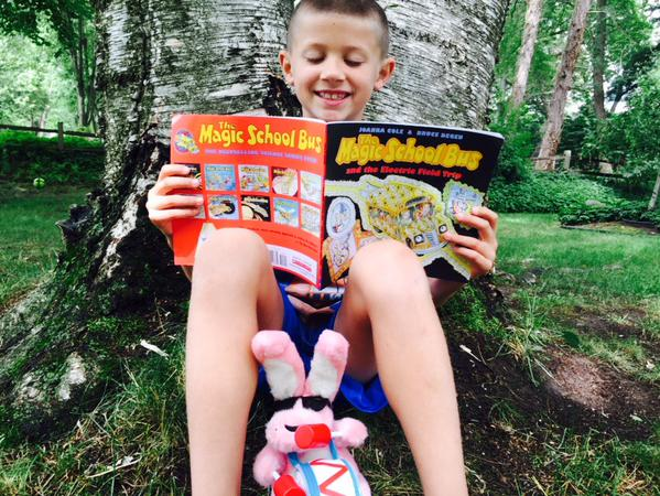 Scholastic Reading Outside