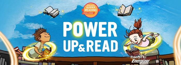 Scholastic Summer Reading Banner