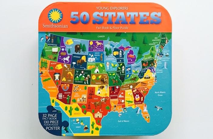 Smithsonian 50 States Puzzle