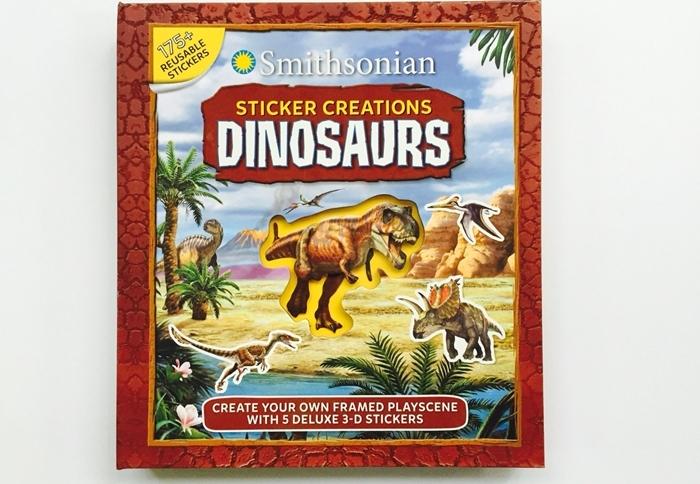 Smithsonian Dinosaur Sticker Book