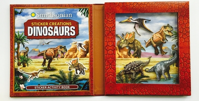 Smithsonian Dinosaur Stickers