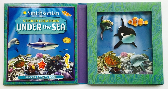 Smithsonian Under The Sea Stickers