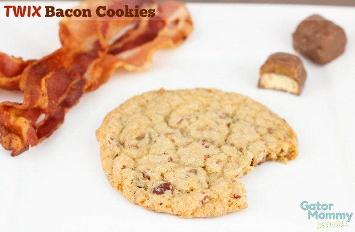 Twix Bacon Cookies