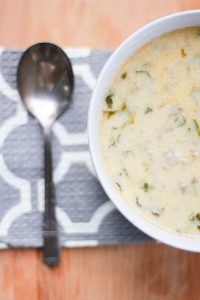 Zuppa Toscana Soup With Bacon