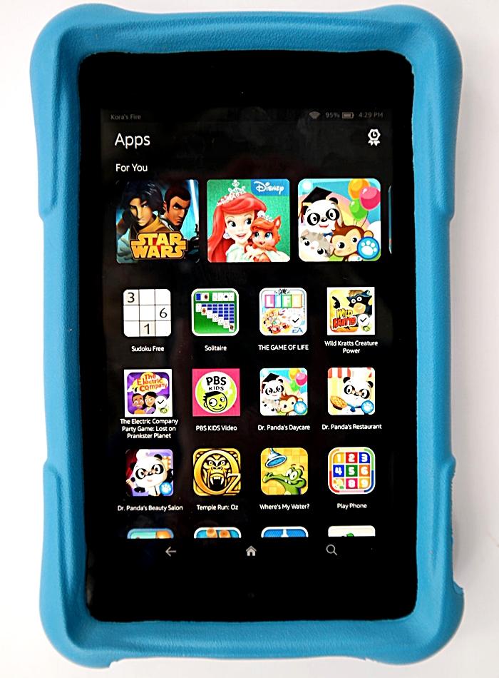 Amazon Fire HD Kids Edition Apps